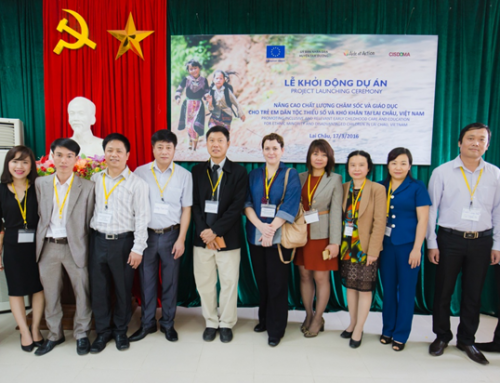 "Project: ""Promoting inclusive and relevant early childhood care and education for ethnic minority and disadvantaged children in Vietnam"" (01/2016 – 12/2018)"