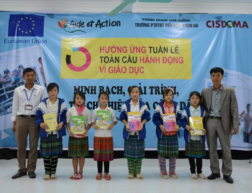 "Tam Duong district to advocate ""Global Action Week for Education"""