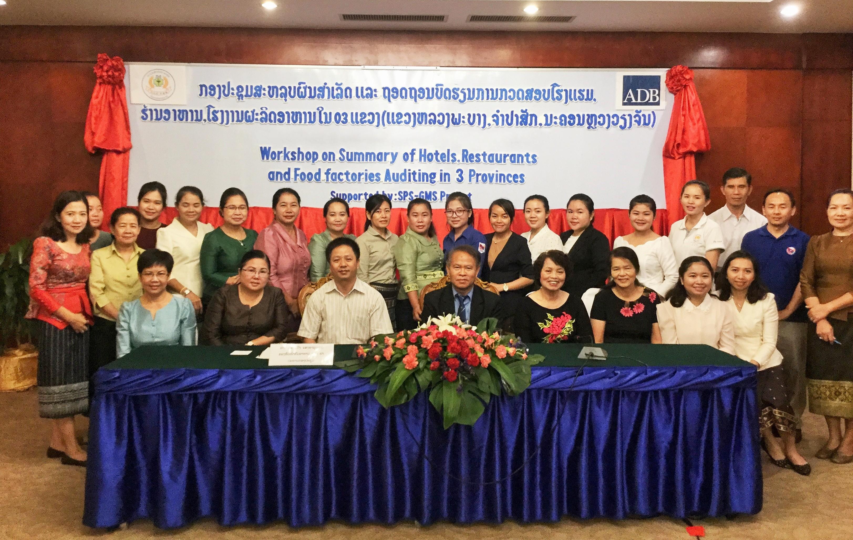 Dự án hỗ trợ kỹ thuật tại Lào thành công tốt đẹp