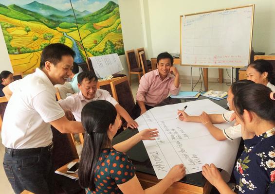 Tập huấn về biến đổi khí hậu và những tác động tới sinh kế địa phương