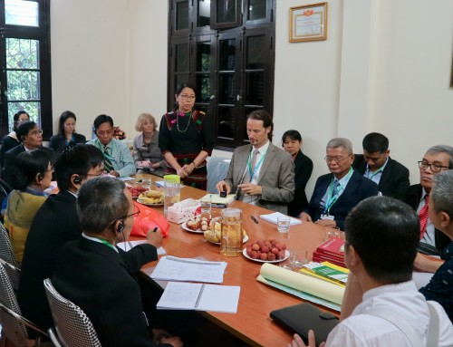 Myanmar Government officials' study tour on law and policy development in land sector