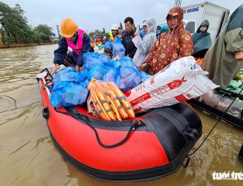Tái thiết cuộc sống sau thảm họa cho đồng bào miền Trung