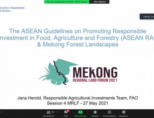 Thúc đẩy các nguyên tắc thực hành tốt trong quản trị đất dai ở tiểu vùng sông Mê Kông
